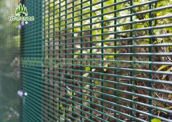 China Anti - Cutting 358 Security Fence Customized Size For Border Security Protection supplier