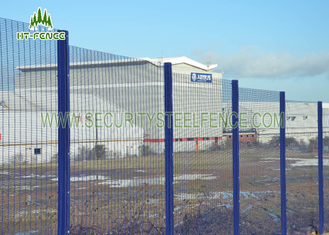 China Walkway Perimeter Wire Mesh Security Fencing With Various Color Choice supplier