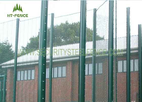 China Anti - Corrosion 358 Security Fence Prison Mesh With Taper Post 85 * 45 * 85mm supplier