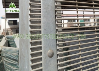 China 2D Type Anti Climb Mesh Fence High Tensile Strength With Powder Coating Finished supplier
