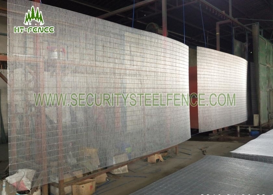 China Anti Ultraviolet Anti Climb Fence , Security Welded Wire Mesh Fencing Panels supplier