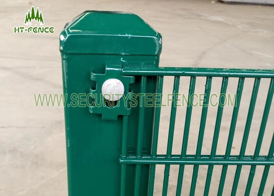 "China 3"" × 1 / 2"" Anti Climb Fence / Anti Cut High Security Wire Fence For Tower Station supplier"