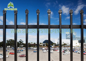 China East Installation Garrison Security Mesh Panels Spear Top With Aluminum Bracket supplier