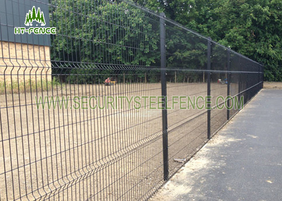 China 100mm Bend Galvanized Welded Wire Mesh Fence , PVC Coated Welded Wire Mesh supplier