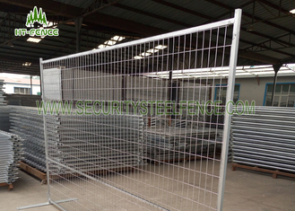 China Square Tube Frame Temporary Fence Panels , Construction Temporary Fencing  supplier