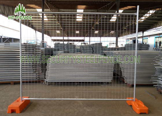 China Customized Event Temporary Metal Fencing With Various Mesh And Frame Choice supplier
