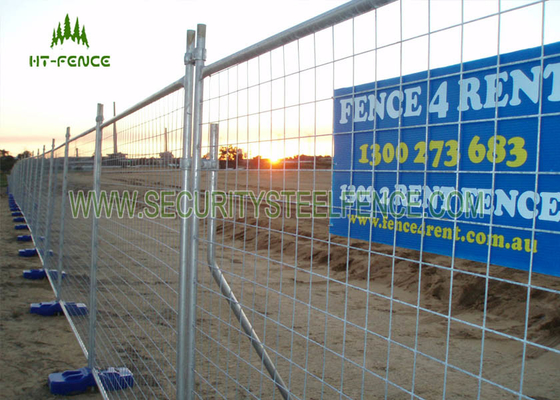 China Hot Dipped Galvanized Temporary Fence Panels , Welded Portable Fence Panels  supplier