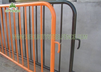 China Easy Moving Crowd Control Metal Barrier Fencing φ25MM Picket For Traffic supplier