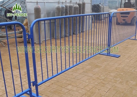 China Pedestrian Steel Crowd Control Barriers , Anti - UV Crowd Control Panels  supplier