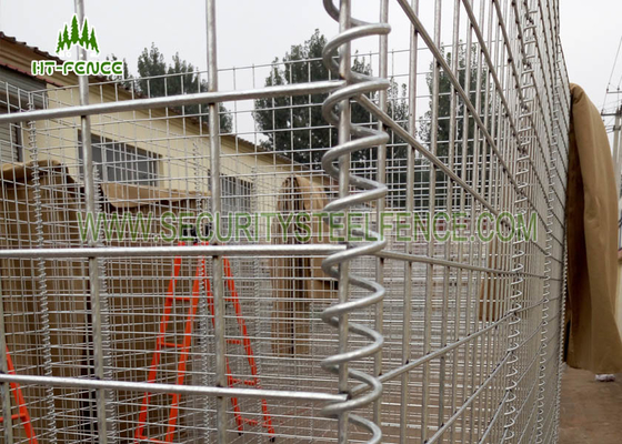 China Industrial Welded Small Gabion Baskets / Wire Gabion Baskets For Retaining Wall supplier
