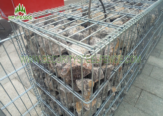 China Easy To Assemble Welded Gabion Box Anti - Rust For Roadway / Bridge Protection supplier