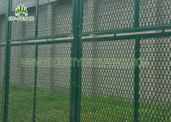 China High Security Concertina Razor Wire Mesh Anti - Rust With 50 × 100mm Square Hole supplier