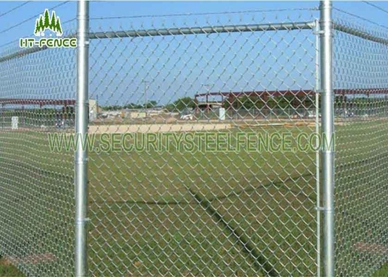 China Pvc Coated Galvanized Chain Link Fencing For Wrights / Landscaping supplier