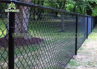 China Perimeter Chain Link Fence Panels Stock Chain Link Security Fence supplier