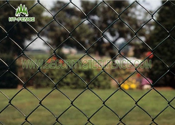China Perimeter High Security Chain Link Fence Anti - Corrosion Crowd Control supplier