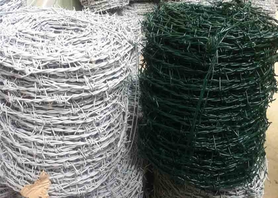 China Protecting Mesh Hot Dipped Galvanized Barbed Wire Mesh Fencing supplier