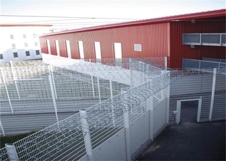 China High Performance High Security Wire Fence , Welded Mesh Security Fencing supplier