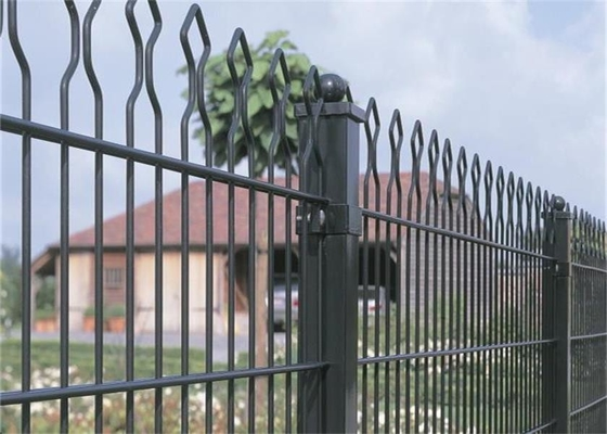 China High - Density Safety Steel Palisade Fencing / Aluminum Garden Temporary Picket Fence supplier