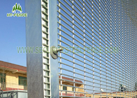 Polyester Coated Anti Climb Fence /  358 Type Security Welded Mesh Fencing