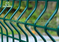 China Economical Curved 3D Welded Wire Mesh Fence Anti - Climb With 50 × 200mm Holes company