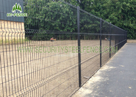 China 100mm Bend Galvanized Welded Wire Mesh Fence , PVC Coated Welded Wire Mesh factory