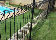 China High Strength Arc Roll Top Fencing , Galvanized Welded Wire Fence Panels  factory
