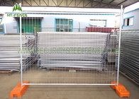 6ft × 12ft Chain Link Temporary Fence Panels , Mobile Construction Fence Panels