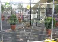 Welded Mesh Temporary Site Fencing With 42 Microns Hot Dipped Galvanized