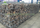 China PVC Coated Welded Gabion Box / Gabion Retaining Wall For River Control company