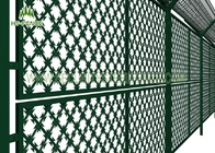 Welded Steel Razor Wire Mesh Fence Panels 75 × 150mm Hole For Prison Safety