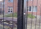 China Outdoor Prison Mesh 358 Security Fence / Steel Metal Security Fence Panels company
