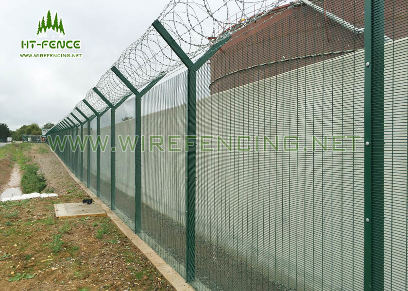 Anti Uv 358 Security Fence Green Security Fencing With