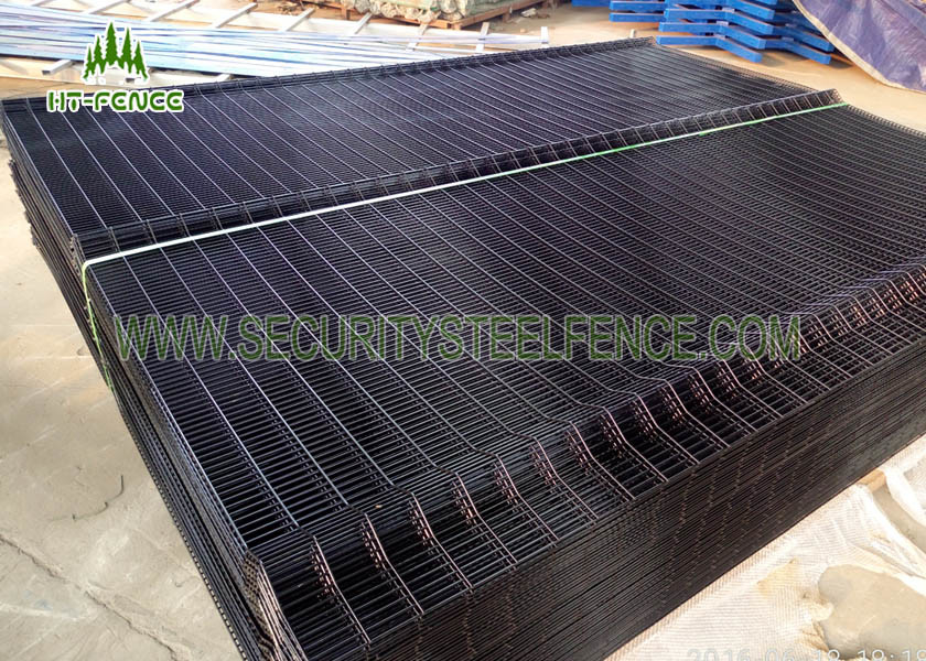 Bridge 358 Anti Climb Fence Welded Wire Mesh Panels