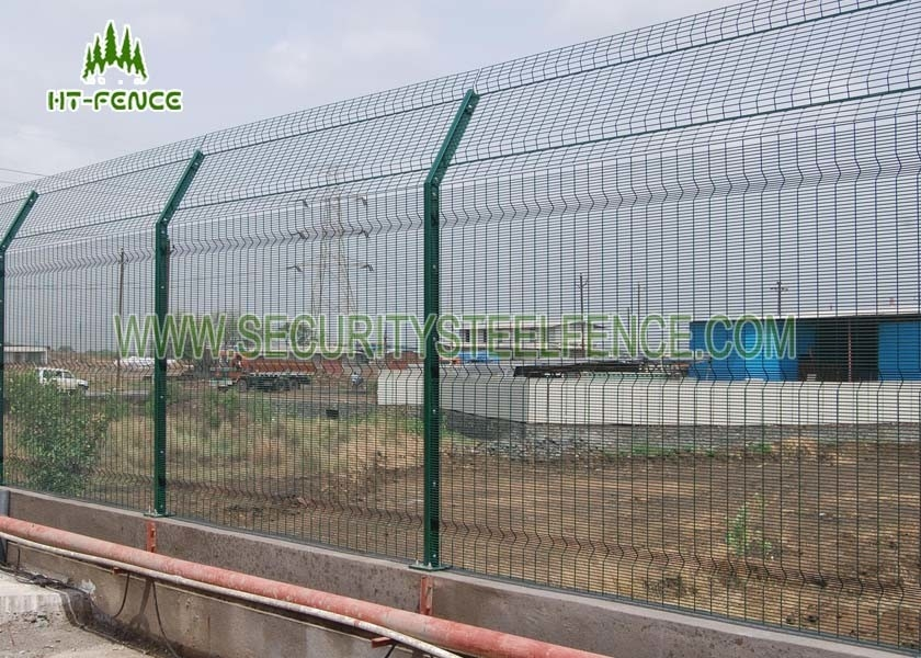 Heavy Duty Welded Anti Climb Mesh Fencing With Erosion Resistance ...