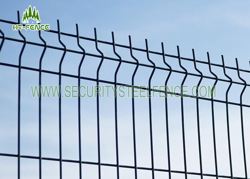 Road / Transit Welded Wire Mesh Fence Panels With φ600mm BTO - 22 ...
