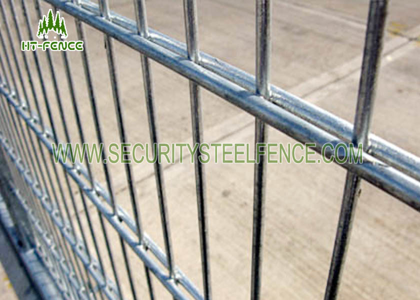1.03m Height 8 / 6 / 8 Double Wire Fence Anti Corrosion For Garden ...