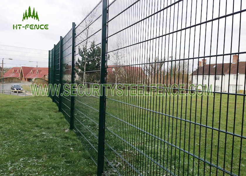 Anti Climb Double Loop Decorative Fence High Security