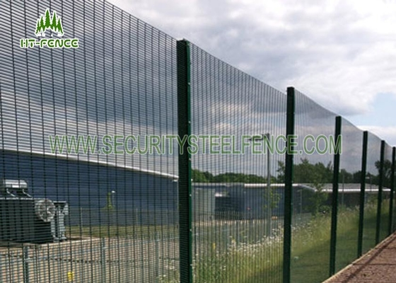 2.4m Height Anti Climb 358 Security Fence High Strength For Power Station