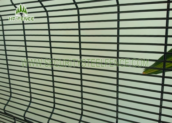 China Welded Anti Climb Fence Security Mesh Panel For Electrical Sub - Station factory