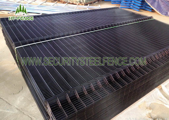 China Bridge 358 Anti Climb Fence / Welded Wire Mesh Fence Panels With Anti Scaling factory