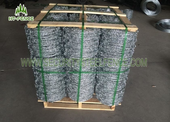 Easy Installation 14 Guage Concertina Razor Wire With Hot Dipped Galvanized