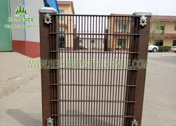 "3"" × 1 / 2"" Anti Climb Fence / Anti Cut High Security Wire Fence For Tower Station"