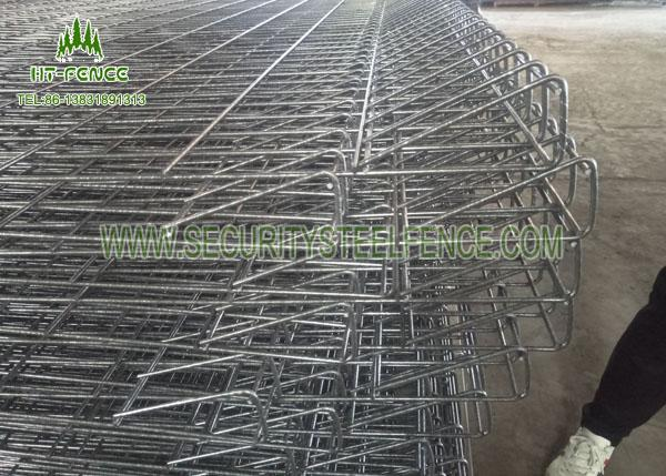 High Security Decorative Wire Garden Fencing With Angle / Roll / Round Top