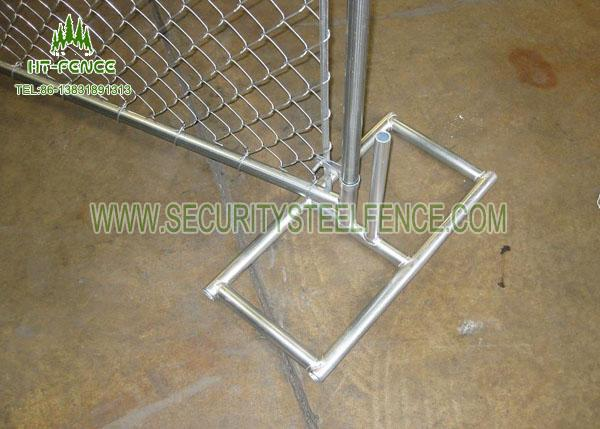 Hot Dipped Galvanized Temporary Fence Panels , Welded Portable Fence Panels