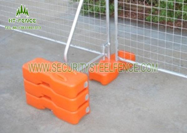 Stainless Steel Temporary Fence Panels / Portable Security Fencing For Traffic