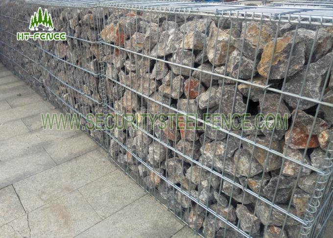 Galvanized Welded Wire Mesh Gabion Fence Box for Retaining Stone Wall
