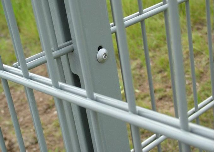 Versatile Hot Dipped Galvanized Double Wire Fence Panels For Airports / Military